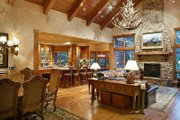 Craftsman Style House Plan - 4 Beds 3.5 Baths 4732 Sq/Ft Plan #48-233 Interior - Family Room