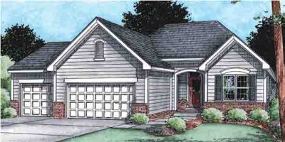 Traditional Exterior - Front Elevation Plan #20-1527 - Houseplans.com