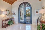 Mediterranean Style House Plan - 3 Beds 3.5 Baths 3700 Sq/Ft Plan #930-511 Interior - Entry