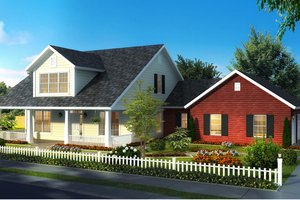 Traditional Exterior - Front Elevation Plan #513-2171