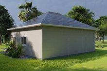 House Plan Design - Traditional Exterior - Rear Elevation Plan #1060-91