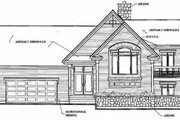 Beach Style House Plan - 3 Beds 4 Baths 1932 Sq/Ft Plan #23-206 Exterior - Rear Elevation