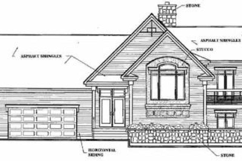 Beach Exterior - Rear Elevation Plan #23-206 - Houseplans.com