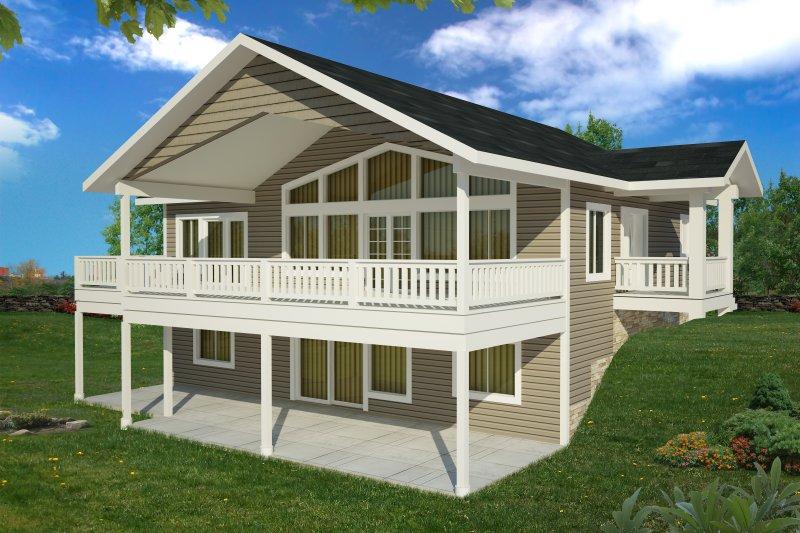 House Plan Design - Craftsman Exterior - Front Elevation Plan #117-893