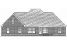 Dream House Plan - European Exterior - Rear Elevation Plan #430-48