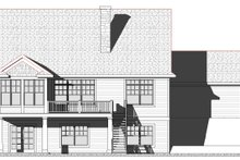 Dream House Plan - Traditional Exterior - Rear Elevation Plan #901-144
