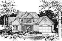 Dream House Plan - Traditional Exterior - Other Elevation Plan #22-423