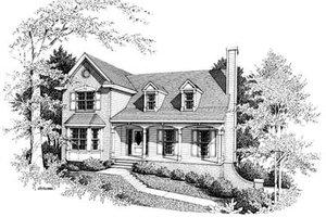 Farmhouse Exterior - Front Elevation Plan #10-217