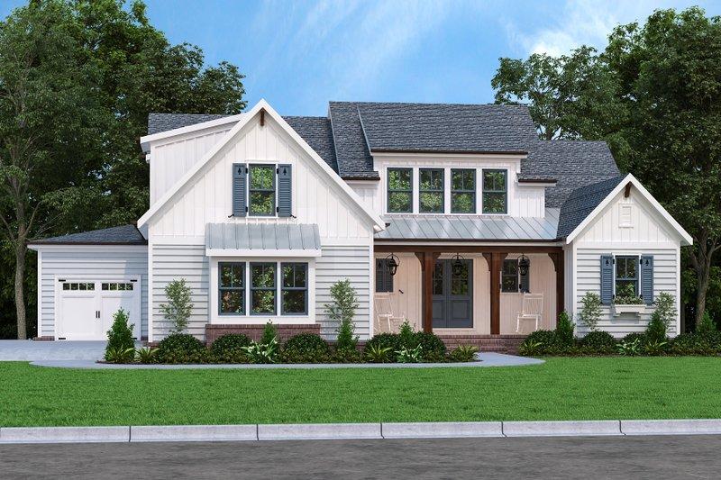 Home Plan - Farmhouse Exterior - Front Elevation Plan #927-1009