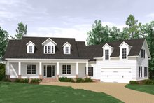 House Plan Design - Farmhouse Exterior - Front Elevation Plan #1071-4