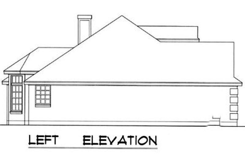 European Exterior - Other Elevation Plan #40-349 - Houseplans.com