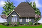 Cottage Style House Plan - 2 Beds 2.5 Baths 1604 Sq/Ft Plan #48-374 Exterior - Rear Elevation