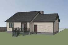Country Exterior - Other Elevation Plan #79-164