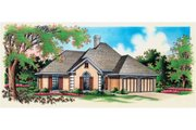 Traditional Style House Plan - 4 Beds 2 Baths 1707 Sq/Ft Plan #45-355 Exterior - Other Elevation