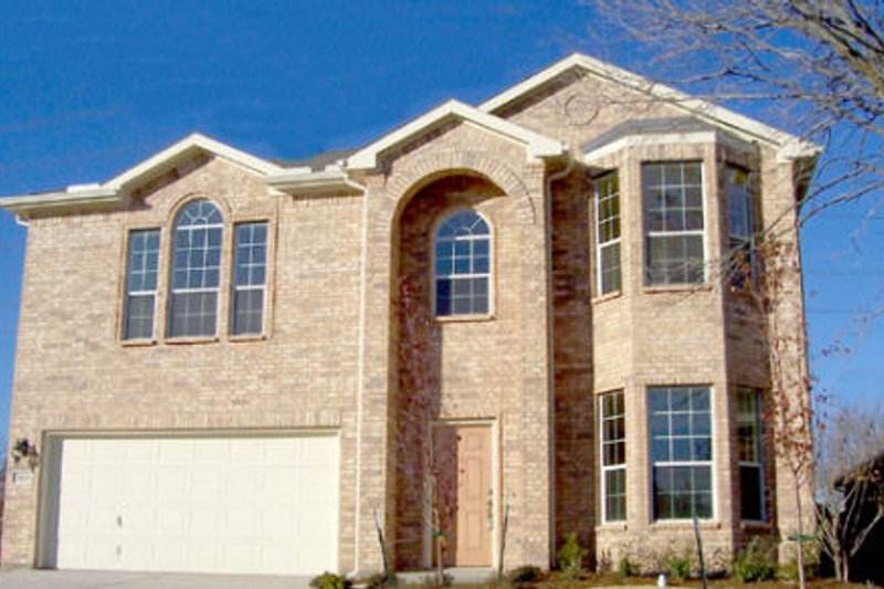 European Style House Plan - 4 Beds 2.5 Baths 2367 Sq/Ft Plan #84-336 Exterior - Front Elevation
