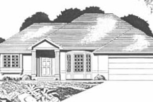 Traditional Exterior - Front Elevation Plan #58-147