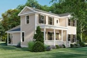 Farmhouse Style House Plan - 3 Beds 2 Baths 1680 Sq/Ft Plan #923-158 Exterior - Other Elevation