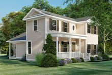 Architectural House Design - Farmhouse Exterior - Other Elevation Plan #923-158