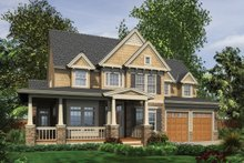 Dream House Plan - Craftsman style, Country design, elevation