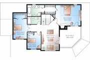 Country Style House Plan - 3 Beds 2.5 Baths 2350 Sq/Ft Plan #23-744