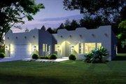 Adobe / Southwestern Style House Plan - 4 Beds 2 Baths 1650 Sq/Ft Plan #1-1319