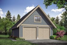 Dream House Plan - Country Exterior - Front Elevation Plan #124-1145