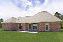 Home Plan - Southern Exterior - Rear Elevation Plan #430-183