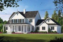 Home Plan Design - Country Exterior - Front Elevation Plan #20-843