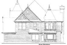 Architectural House Design - Victorian Exterior - Rear Elevation Plan #410-117