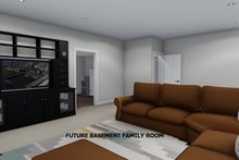House Plan Design - Future Finished Basement Family Room