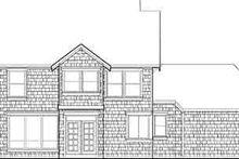 House Design - Craftsman Exterior - Rear Elevation Plan #48-213