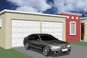 House Plan - 3 Beds 2 Baths 1404 Sq/Ft Plan #495-2 Exterior - Front Elevation