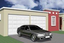 Dream House Plan - Exterior - Front Elevation Plan #495-2