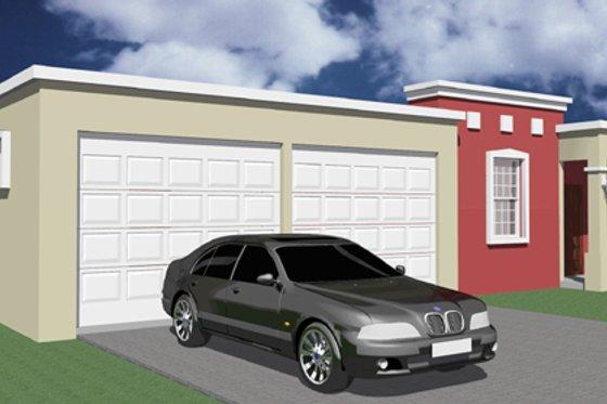Exterior - Front Elevation Plan #495-2