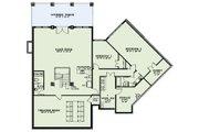 Craftsman Style House Plan - 3 Beds 4 Baths 6636 Sq/Ft Plan #17-2500 Floor Plan - Lower Floor Plan