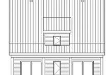 Modern Exterior - Rear Elevation Plan #23-2682