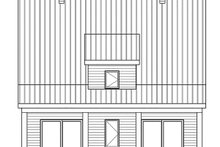 Architectural House Design - Modern Exterior - Rear Elevation Plan #23-2682