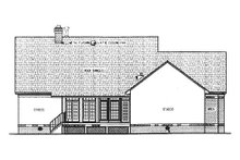 Farmhouse Exterior - Rear Elevation Plan #45-133