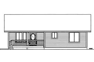 Traditional Exterior - Front Elevation Plan #117-755