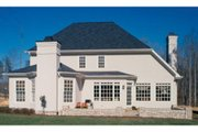 European Style House Plan - 3 Beds 2.5 Baths 2710 Sq/Ft Plan #429-50 Exterior - Other Elevation