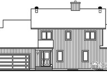 House Plan Design - Contemporary Exterior - Other Elevation Plan #23-397