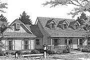 Country Style House Plan - 3 Beds 2.5 Baths 1981 Sq/Ft Plan #14-214