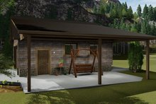 Dream House Plan - Traditional Exterior - Other Elevation Plan #1060-96
