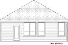 Craftsman Exterior - Rear Elevation Plan #84-538