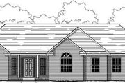 Traditional Style House Plan - 3 Beds 2 Baths 1840 Sq/Ft Plan #123-102 Exterior - Front Elevation