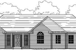 Traditional Exterior - Front Elevation Plan #123-102