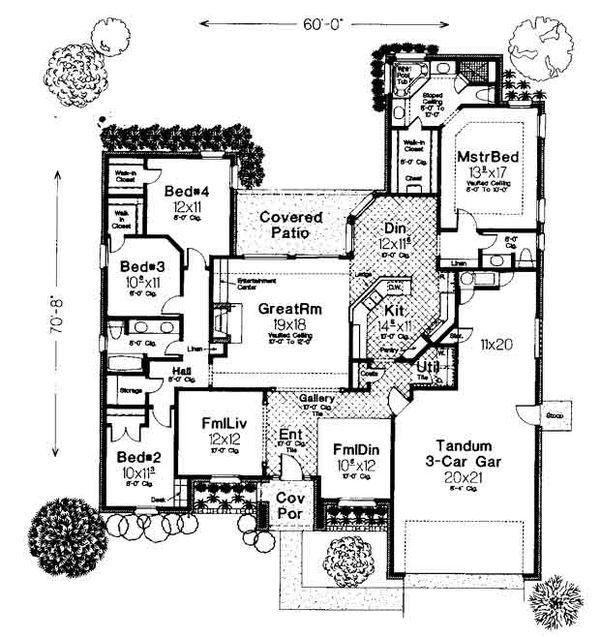 Floor Plan - Main Floor Plan #310-734
