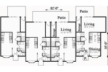 Traditional Floor Plan - Main Floor Plan Plan #303-474