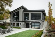 Contemporary Style House Plan - 3 Beds 2 Baths 2011 Sq/Ft Plan #928-345