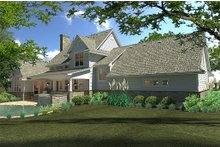 Architectural House Design - Farmhouse Exterior - Rear Elevation Plan #120-189